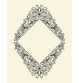 Line Vintage Frame vector image vector image