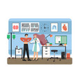 medicine concept flat style design vector image
