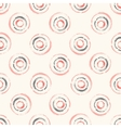 Seamless pattern with concentric circles vector image vector image