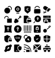 Security Icons 5 vector image vector image