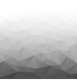 Abstract Gradient Gray Geometric Background vector image vector image