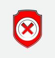 Check mark logo vector image vector image