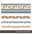 Old greek ornament vector image vector image