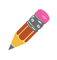 pencil icon colorful icons flat style vector image vector image