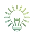 save bulb isolated icon vector image vector image