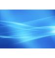 Stream Of Light Blue vector image