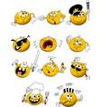 cheerful balls vector image