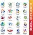 20 best corporate logo vector image