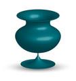 ceramic vase isolated vector image