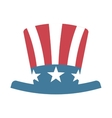 hat united states of america vector image