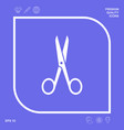 scissors icon symbol graphic elements for your vector image
