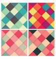 set square colorful retro background vector image vector image