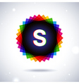 Spectrum logo icon Letter S vector image