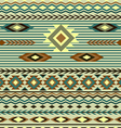 seamless pattern in ethnic style of the American I vector image