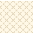 Beige seamless geometric pattern vector image vector image