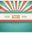 vintage faded background retro stripes dots vector image
