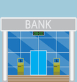 Building modern bank vector image vector image