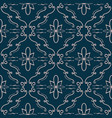 elegant flourish seamless pattern vector image vector image