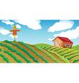 Farm House vector image vector image