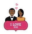 Love icon design vector image vector image