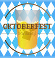 oktoberfest graphic design vector image vector image