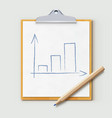 productivity concept vector image vector image