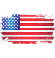 USA Flag Art Background 02 vector image vector image