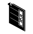 voted paper icon simple style vector image