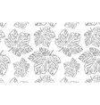black and white seamless vector image