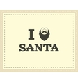 Christmas unique funny sign quote background vector image