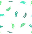 eco green palette seamless pattern with abstract vector image vector image