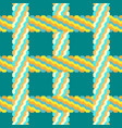 seamless braid pattern vector image