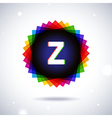 Spectrum logo icon Letter Z vector image vector image