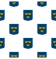 coat of arms of sweden pattern flat vector image vector image