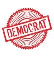 Democrat stamp rubber grunge