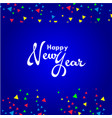 happy new year template design vector image