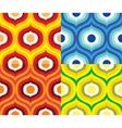 Scandinavian retro pattern vector image vector image