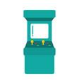 arcade machine video game vector image vector image