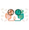 fecal microbiota transplant or stool transplant vector image