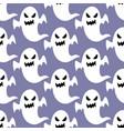 ghost halloween pattern vector image vector image