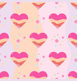 love print seamless pattern decorative pattern vector image vector image