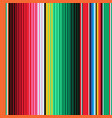 Mexican blanket stripes seamless pattern vector image