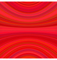 red abstract dynamic background from thin curved vector image vector image