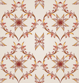 Seamless floral pattern in pastel shades vector image vector image