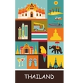 Symbols of Thailand vector image