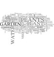 whether you are an avid vegetable gardener text vector image vector image