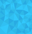 Blue background abstract polygon triangle style vector image