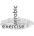 cardiovascular effort for excellent health vector image vector image
