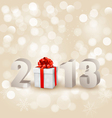 Happy new year 2013 New year design template vector image vector image