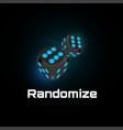 randomization instrument tool concept random vector image